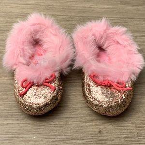 Disney Princess Girls Glitter Slippers